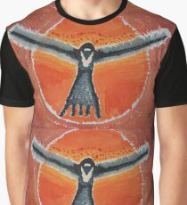 Bluebird Shaman original painting Graphic T-Shirt
