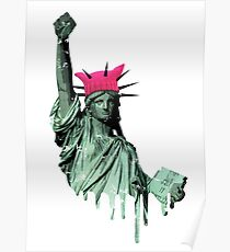 Resist - Statue of Liberty Poster