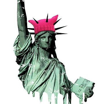 Resist - Statue of Liberty by f22design