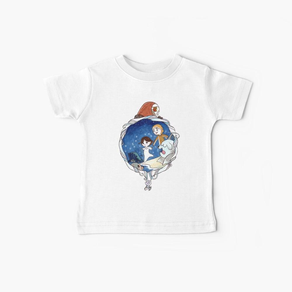 Ben y Saoirse Camiseta para bebés