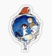 Ben & Saoirse Sticker