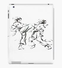 Martial Arts Sparring iPad Case/Skin