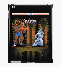 Round One, Pass! iPad Case/Skin