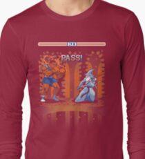 Round One, Pass! Long Sleeve T-Shirt