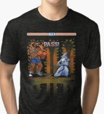 Round One, Pass! Tri-blend T-Shirt