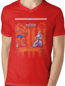 Round One, Pass! Mens V-Neck T-Shirt
