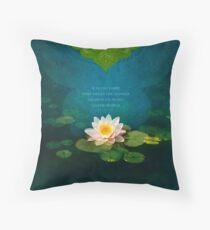 Bouquet of Light Throw Pillow