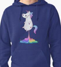 Unicorn Fart Pullover Hoodie