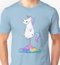 Einhorn Furz Slim Fit T-Shirt