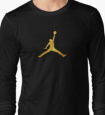 Gold Jordan Logo T-Shirt