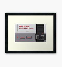 Nintendo Entertainment System Classic Framed Print