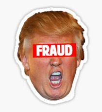 TRUMP: FRAUD Sticker