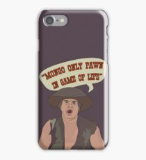 MONGO ONLY PAWN iPhone Case/Skin