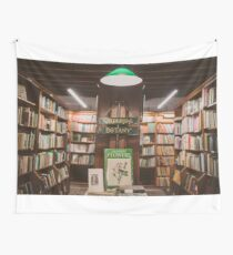 Bookstore´s secret corner Wall Tapestry