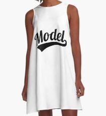 Model A-Line Dress