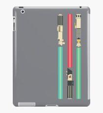 Retro Modern Sabers iPad Case/Skin