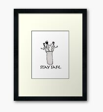 Jimmy Carter & The Contraception Kids  Framed Print