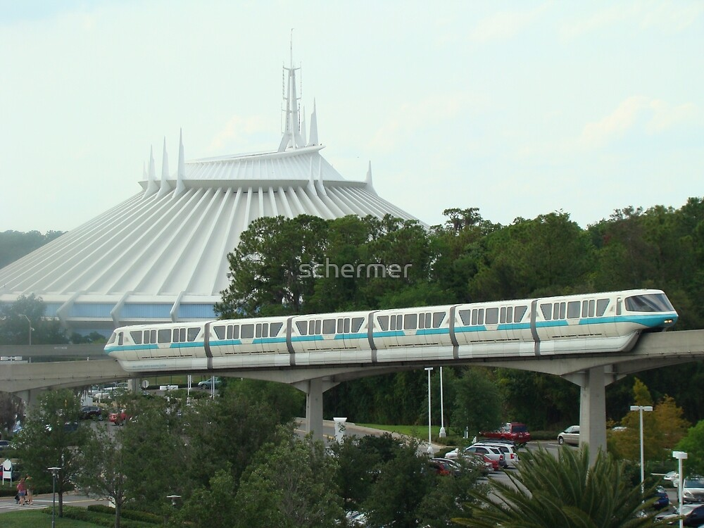 Space Mountain by schermer