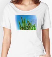 BLUE & GREEN Women's Relaxed Fit T-Shirt