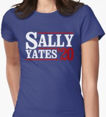 Sally Yates 2020 Womens Fitted T-Shirt