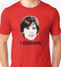 Sally Yates I dissent Unisex T-Shirt