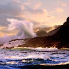 Curling wave by Chappy
