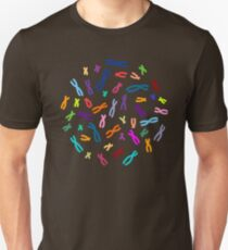 Color Coded DNA Unisex T-Shirt