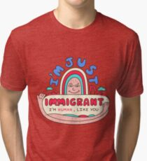 The Immigrant Tri-blend T-Shirt