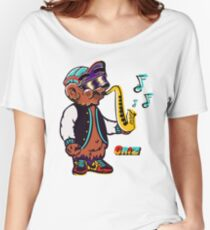GRIZ - Sax Bear Women's Relaxed Fit T-Shirt