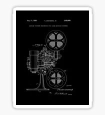 Motion Picture Projector Patent 1936 Sticker