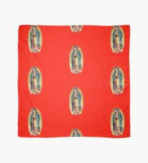 Our Lady of Guadalupe Virgin Mary Tilma Red Scarf