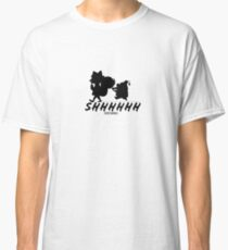 Secret Squirrel Morocco Mole Black Pattern Classic T-Shirt