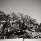 U.S. Grant Memorial - Cavalry Charge by John Schneider