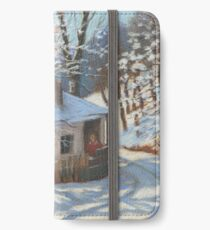 Winter sketch iPhone Wallet/Case/Skin