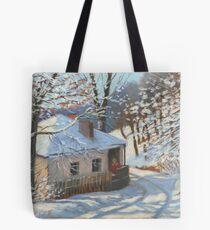 Winter sketch Tote Bag