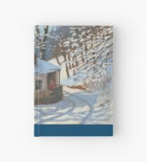 Winter sketch Hardcover Journal
