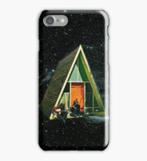 A house in space iPhone Case/Skin