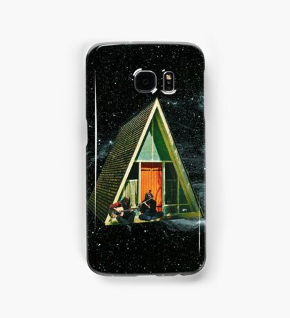 A house in space Samsung Galaxy Case/Skin