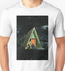 A house in space Unisex T-Shirt