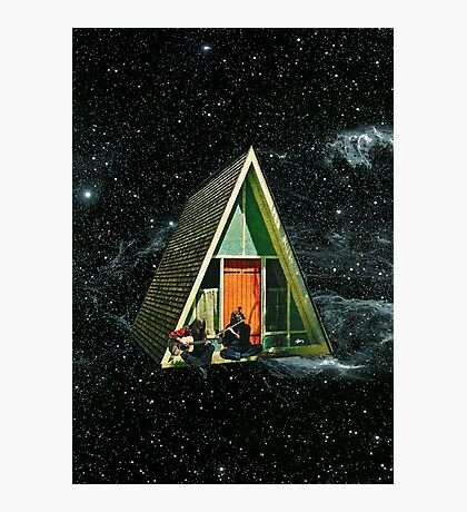 A house in space Photographic Print