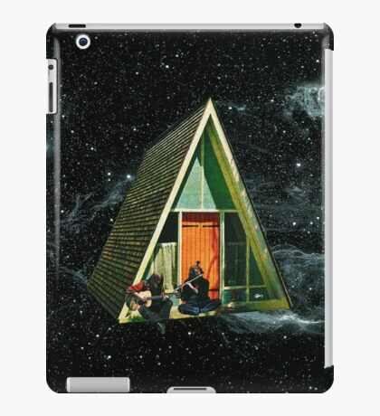 A house in space iPad Case/Skin