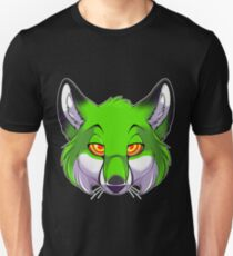 Hypno Fox - Green Unisex T-Shirt