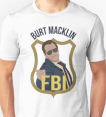 Burt Macklin - Parks and Recreation Unisex T-Shirt