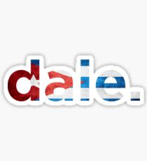 Dale Sticker