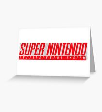 SUPERNINTENDO Greeting Card