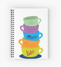 Mugs, Gilmore Girls Spiral Notebook