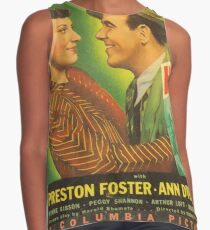 American Classic Movie Posters - Cafe Hostess, 1940 Contrast Tank