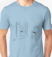 Calvin in the Mirror Unisex T-Shirt