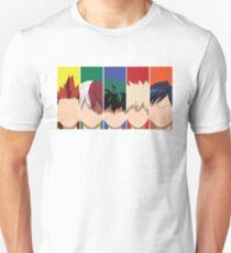 Boku No Hero Male Members Unisex T-Shirt