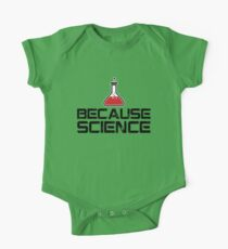 Because Science! One Piece - Short Sleeve